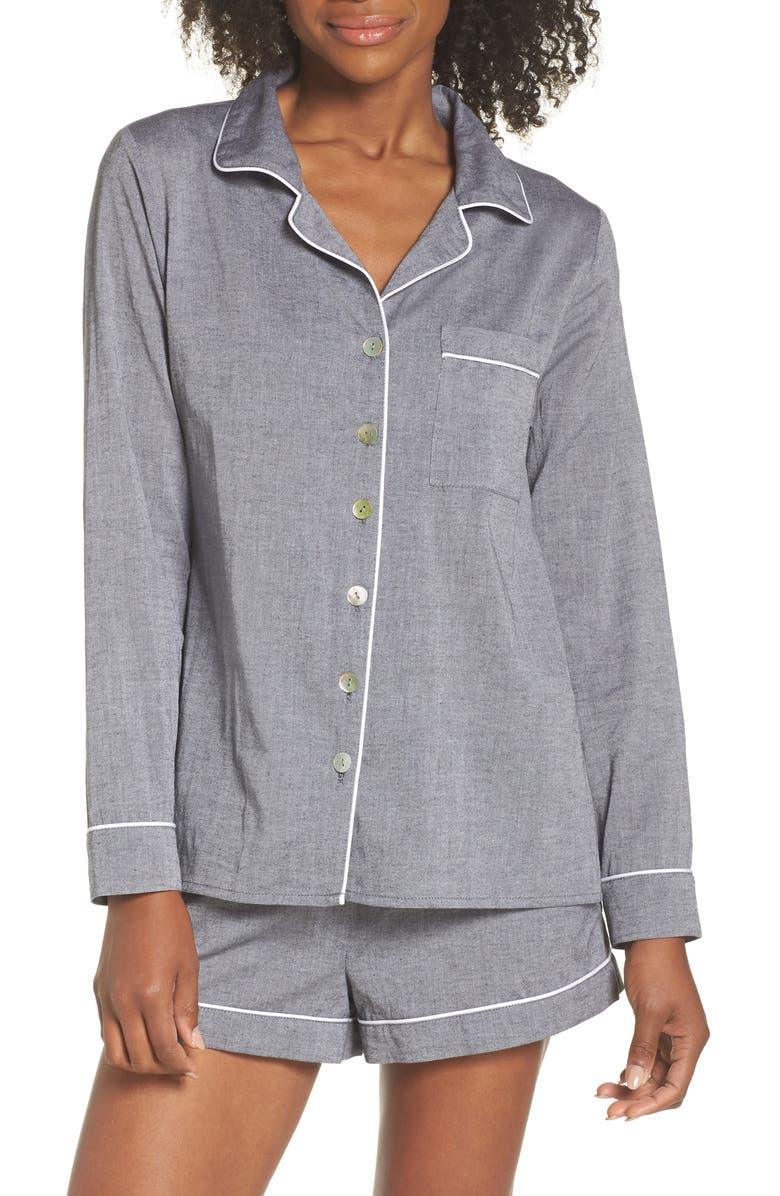 LOUNGERIE Short Pajamas, Main, color, 027