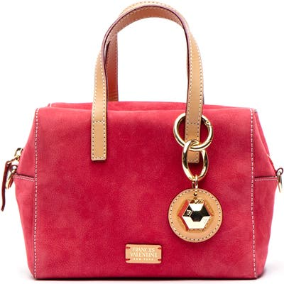 Frances Valentine Mini Nubuck Satchel - Red