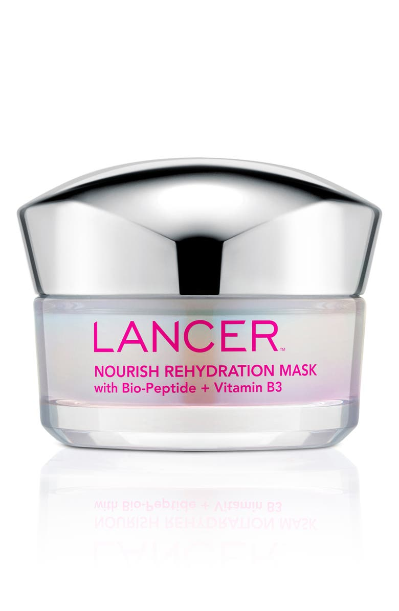 LANCER SKINCARE Nourish Rehydration Mask, Main, color, NO COLOR