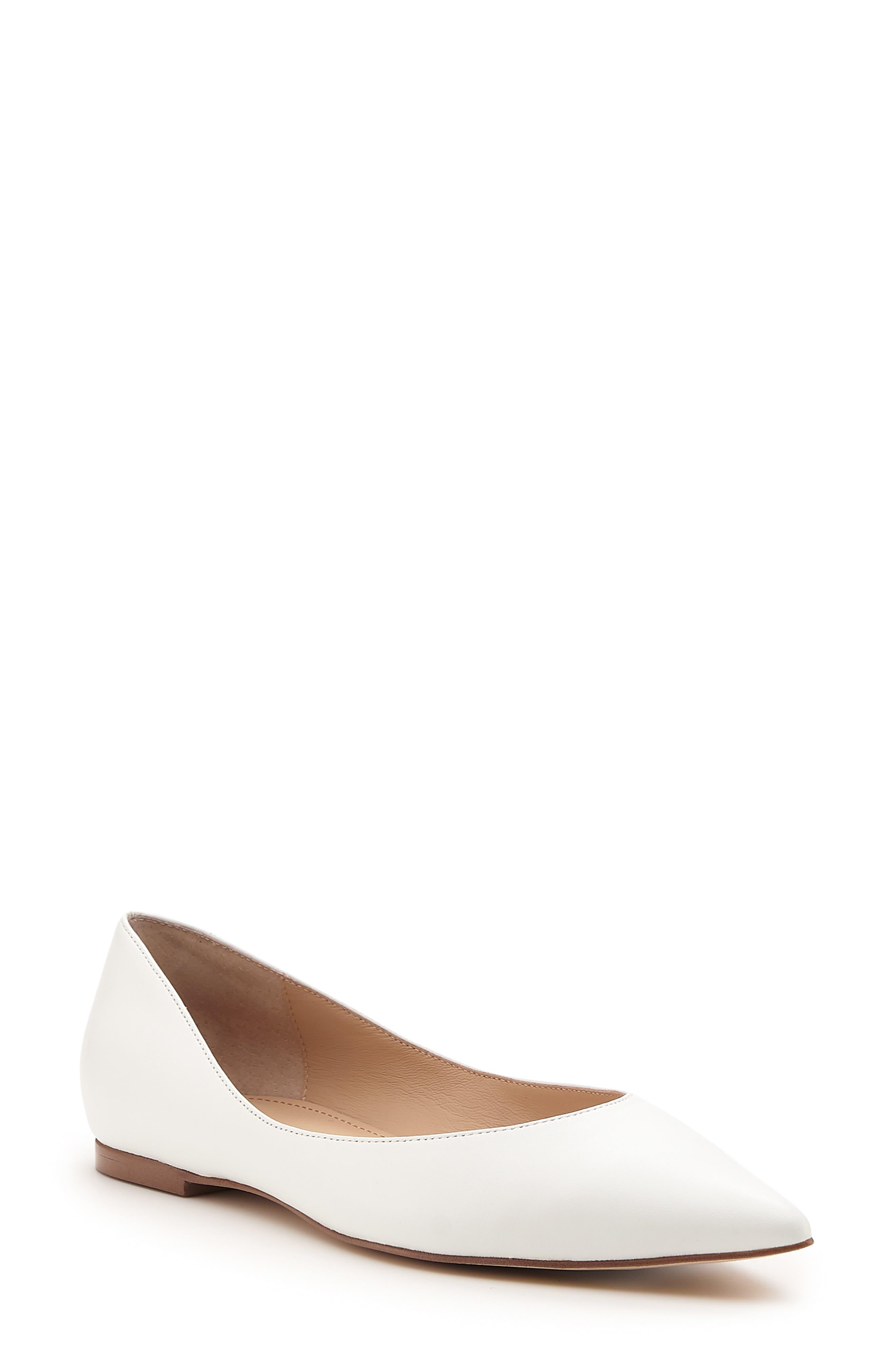 Annika Pointed Toe Flat