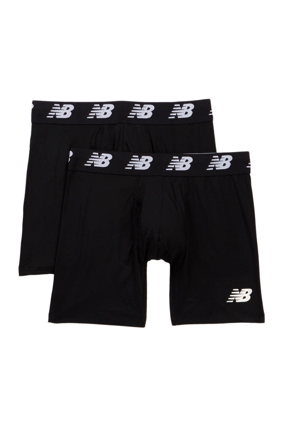 """Image of New Balance Performance Everyday 6"""" Boxer Briefs - Pack of 2"""