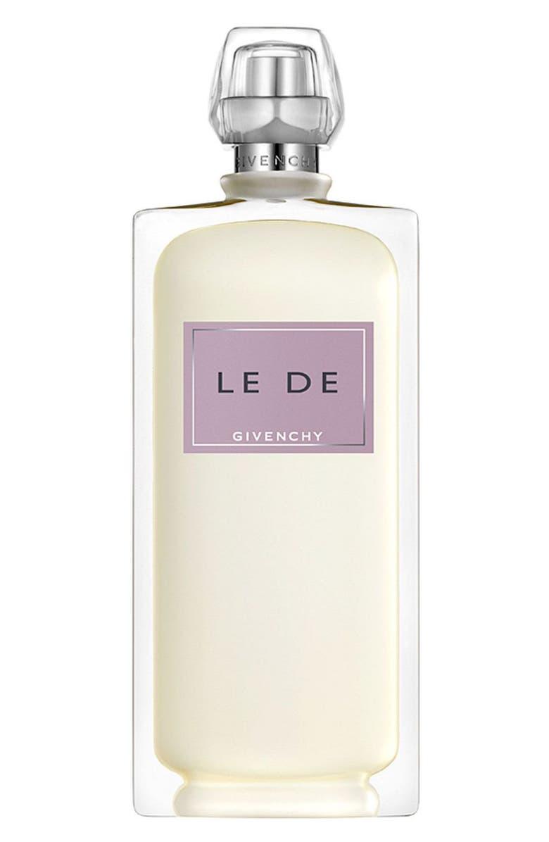 GIVENCHY 'Le De' Spray, Main, color, 000