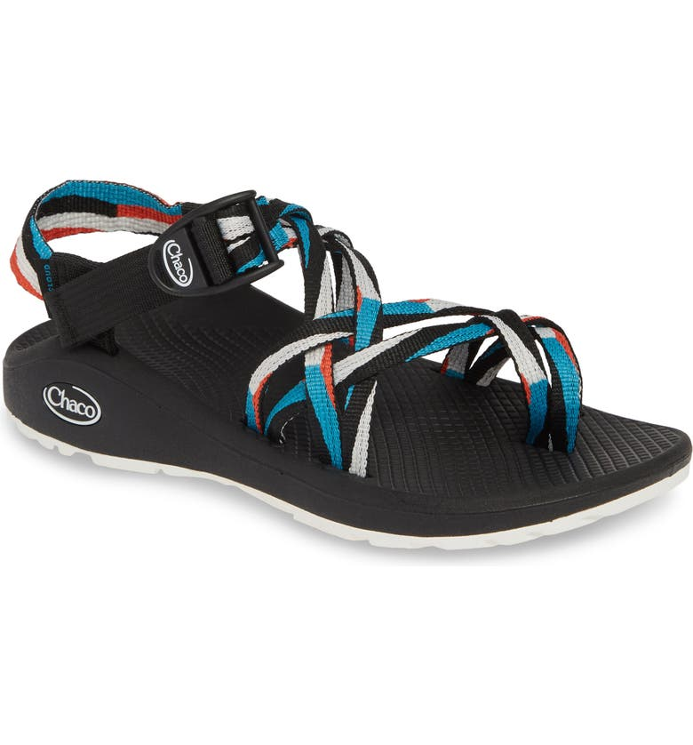 CHACO Z/Cloud X2 Sandal, Main, color, POINT TEAL FABRIC