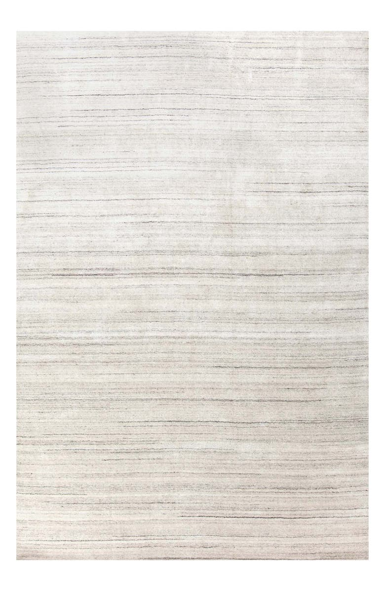 DASH & ALBERT Icelandia Hand Knotted Rug, Main, color, WHITE