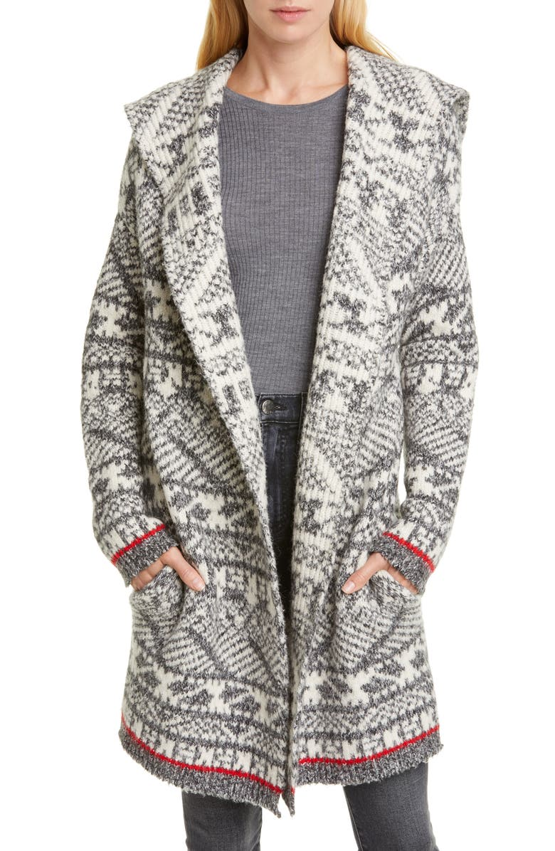 LINE Nova Hooded Cardigan, Main, color, 020