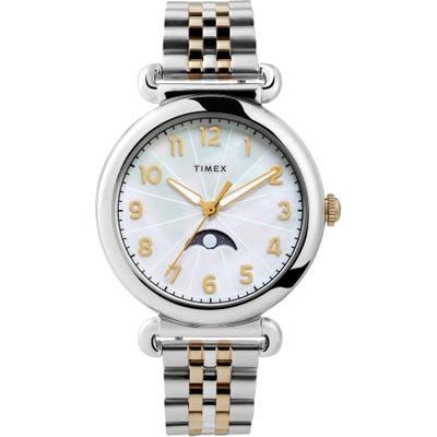 Timex Model 23 Moon Phase Bracelet Watch,