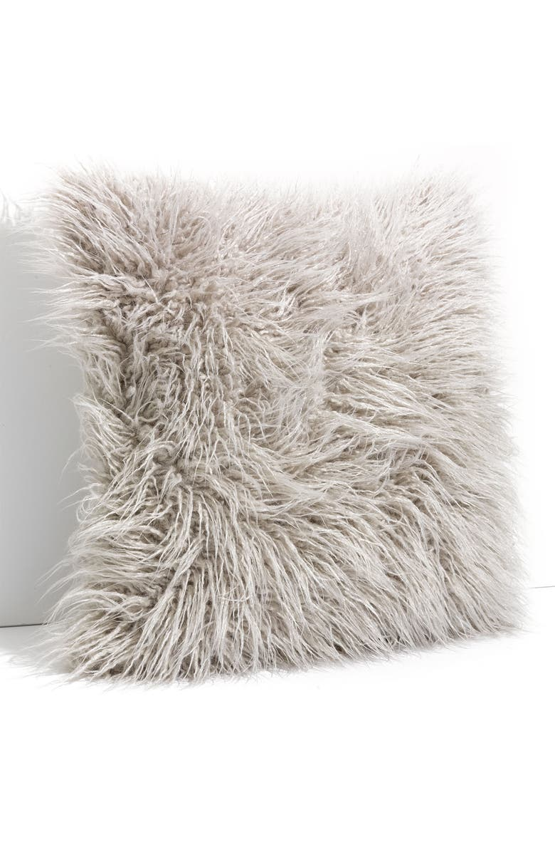 NORDSTROM at Home 'Flokati' Decorative Pillow, Main, color, 020