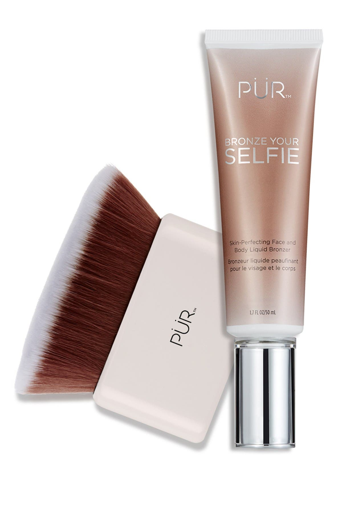 Image of PUR Cosmetics Bronze Your Selfie Face & Body Liquid Bronzer