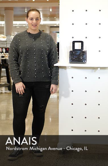 Mini Shirley Transparent Handbag, sales video thumbnail