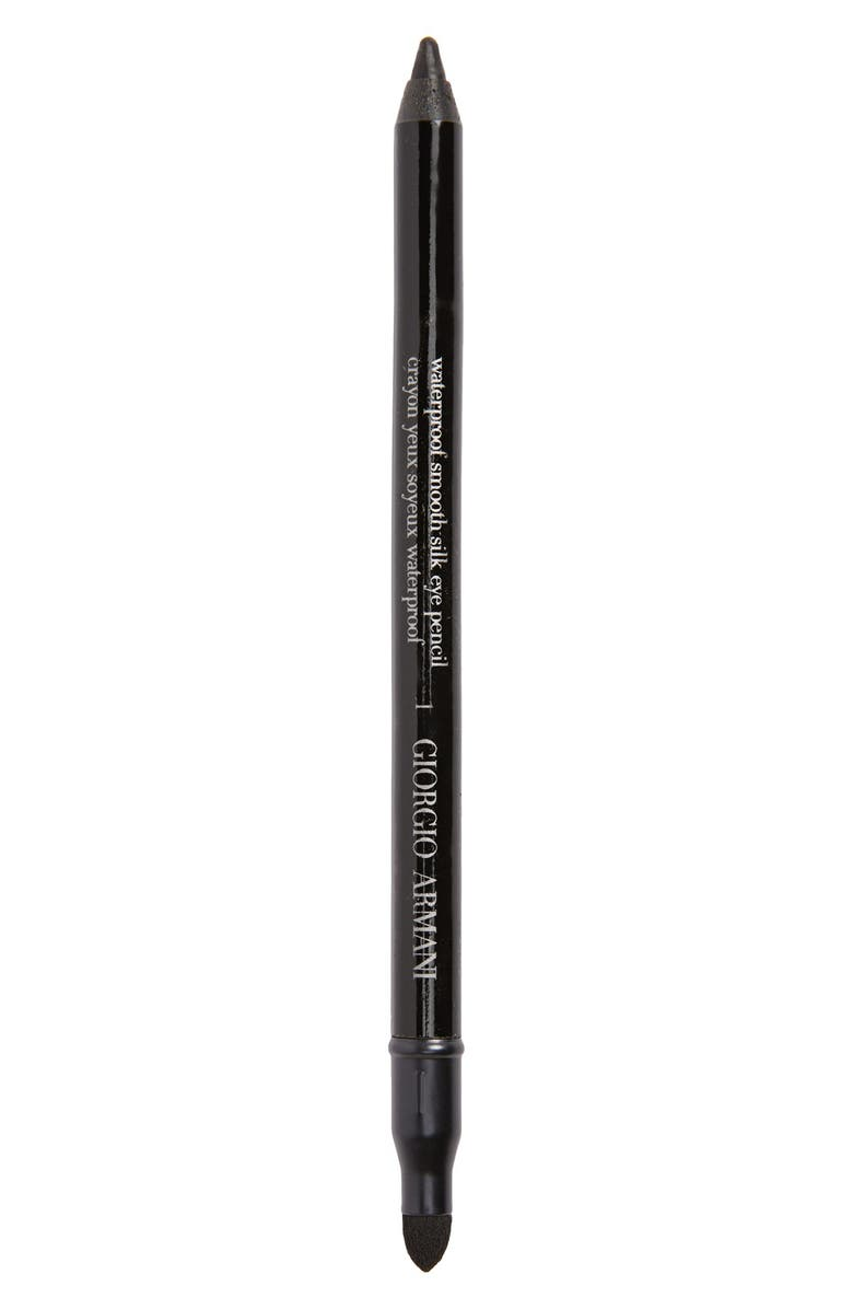 GIORGIO ARMANI Eyes to Kill Waterproof Eye Pencil, Main, color, #1 BLACK