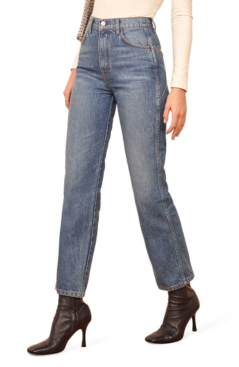 REFORMATION Star Jeans, Main, color, ISKAR