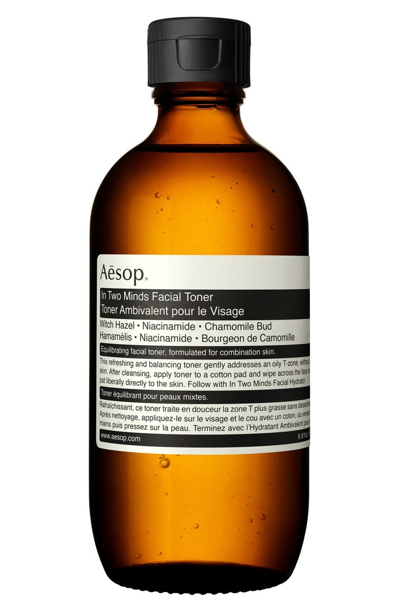 AESOP In Two Minds Facial Toner, Main, color, NO COLOR