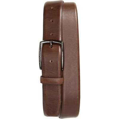 Boss Celie Leather Belt, Dark Brown