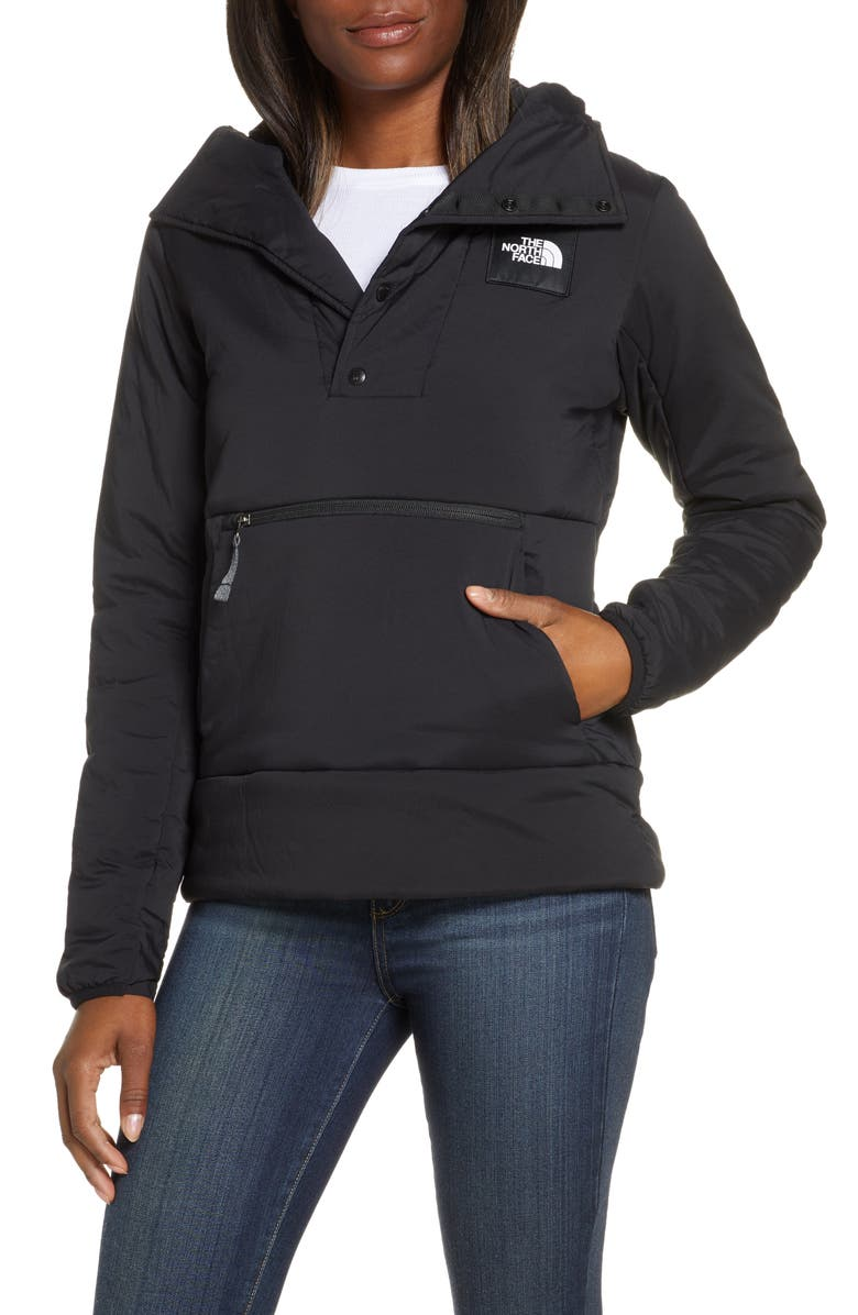 THE NORTH FACE Fallback Pullover Hoodie, Main, color, TNF BLACK