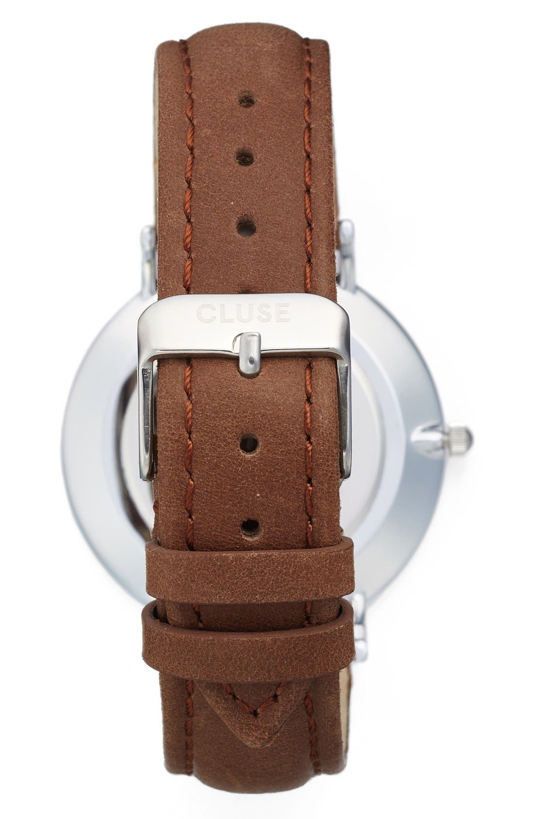 ,                             La Bohème Leather Strap Watch, 38mm,                             Alternate thumbnail 23, color,                             200