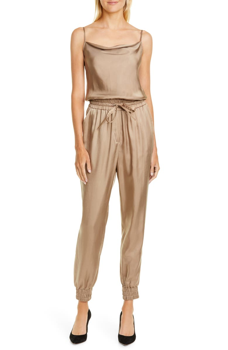 CINQ À SEPT Finnley Twill Jumpsuit, Main, color, 036