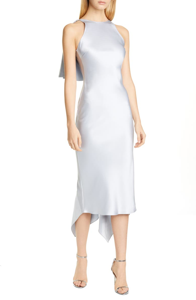 CUSHNIE Sleeveless Cocktail Dress, Main, color, 455
