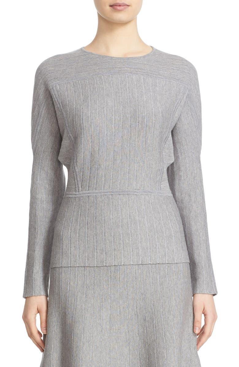 COLOVOS Dolman Sleeve Sweater, Main, color, LIGHT GREY