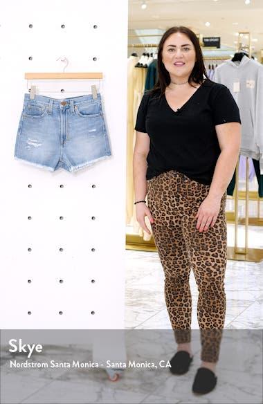 The Momjean High Waist Denim Shorts, sales video thumbnail