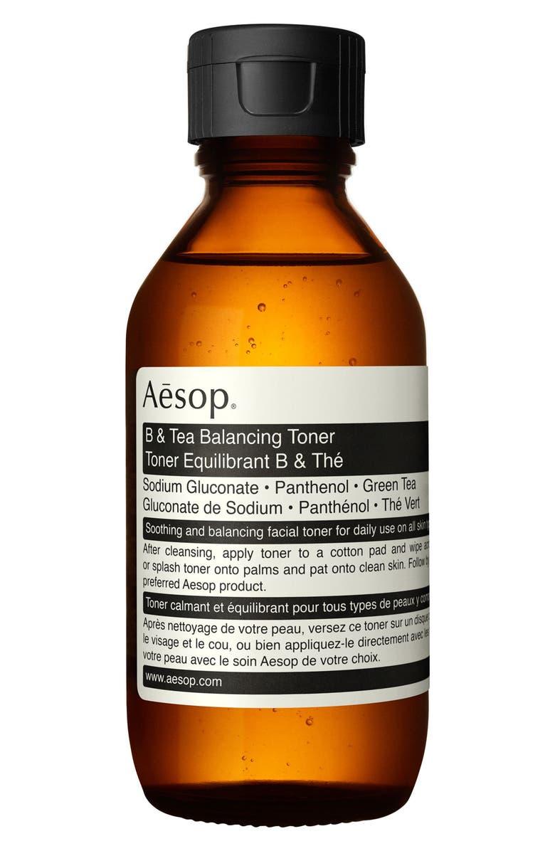 AESOP B & Tea Balancing Toner, Main, color, NONE