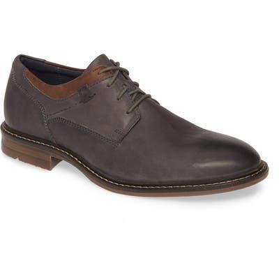 Josef Seibel Earl Plain Toe Derby, Grey