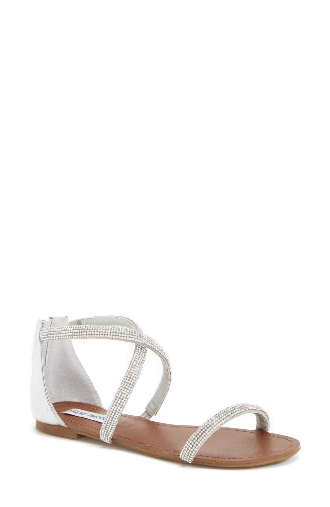 ,                             'Zsaza' Crystal Embellished Strappy Sandal,                             Main thumbnail 2, color,                             040