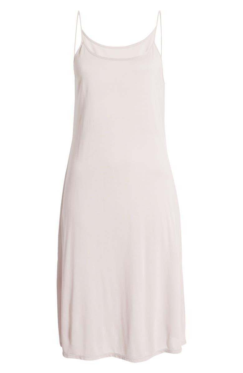 NATORI Jersey Nightgown, Main, color, SILVER PEARL