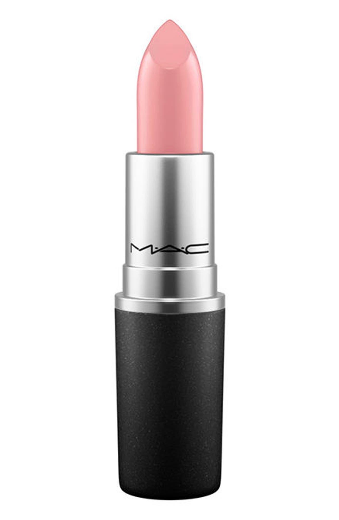 ,                             MAC Pink Lipstick,                             Main thumbnail 1, color,                             CREME CUP (C)