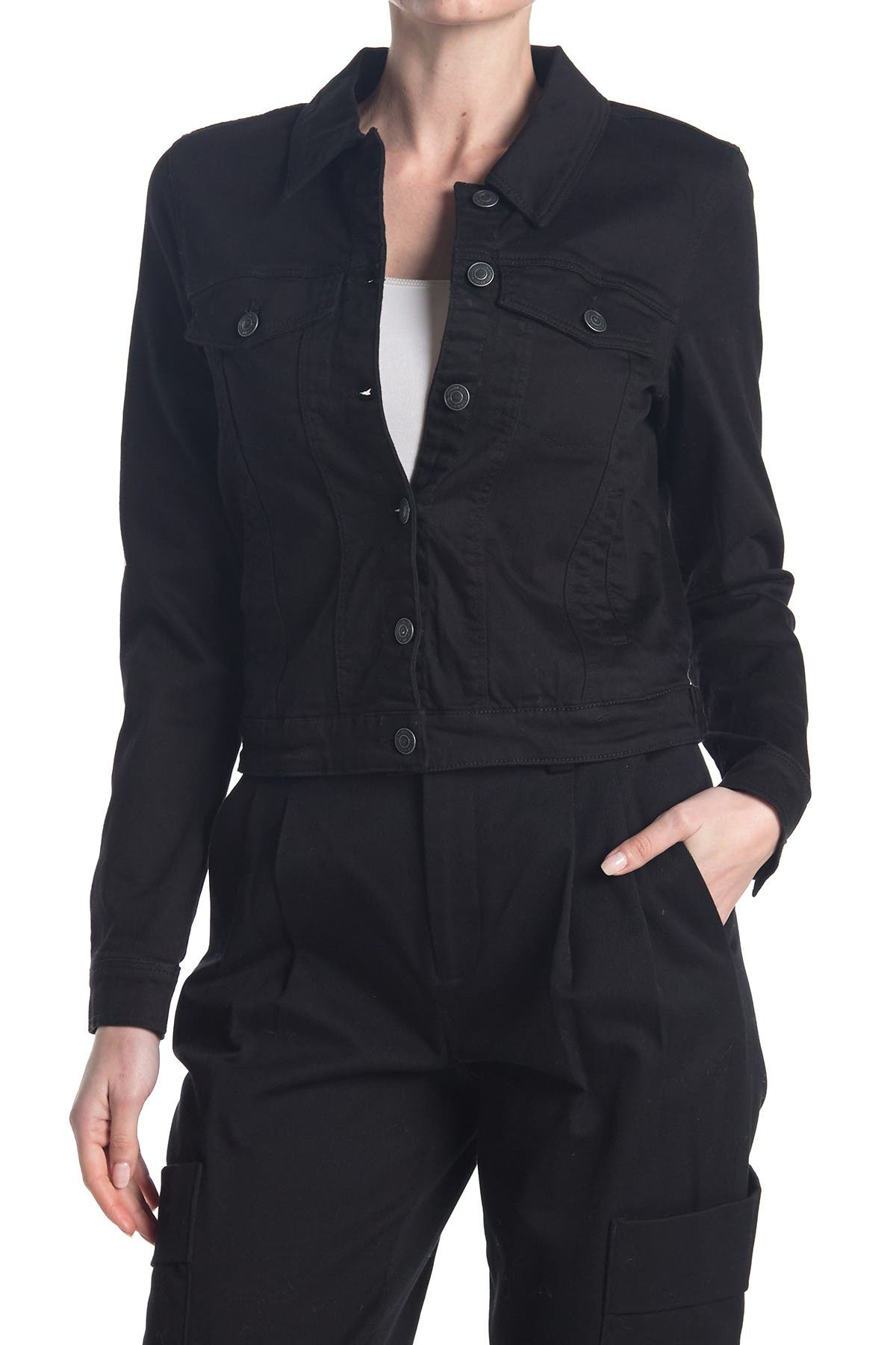 Image of VERO MODA Long Sleeve Button Up Jacket