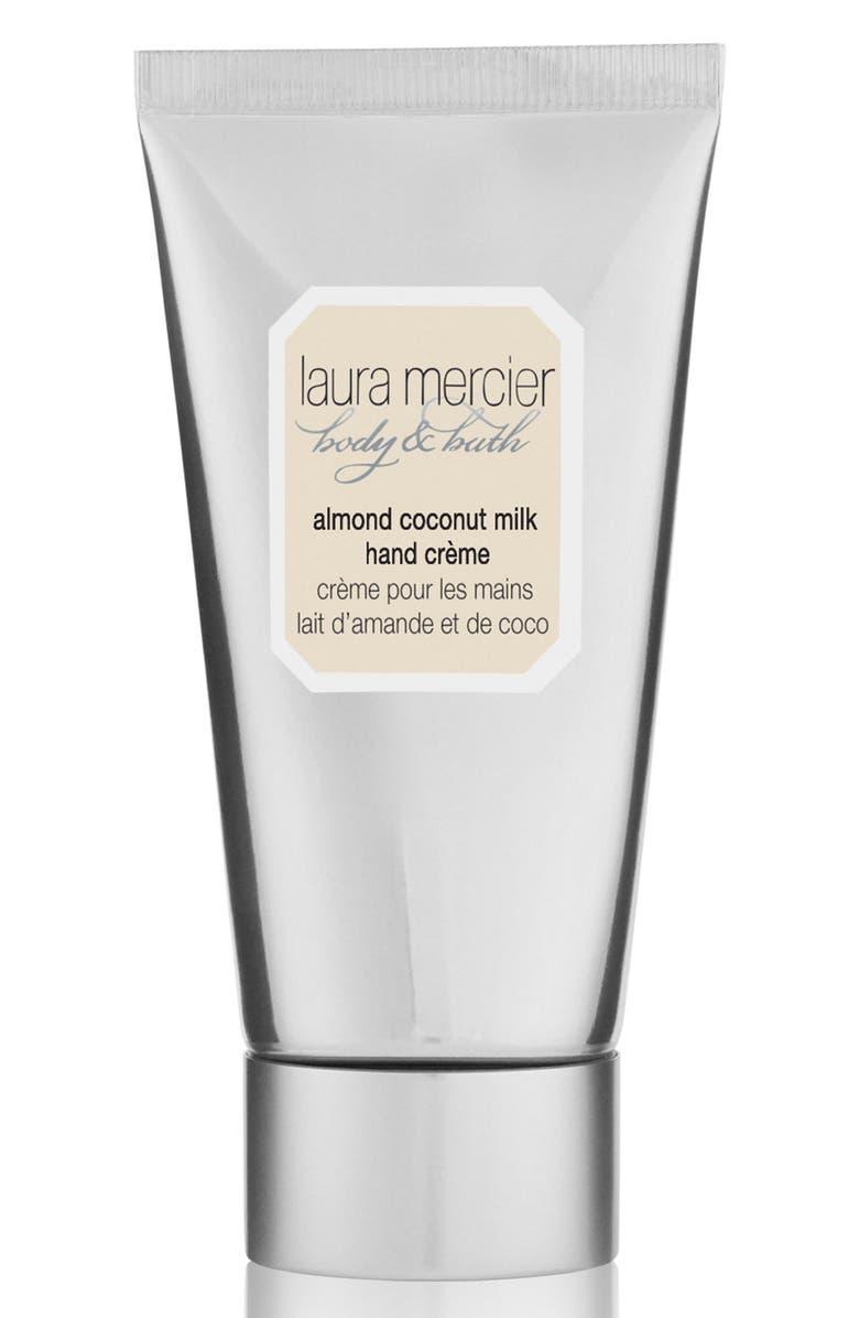LAURA MERCIER Almond Coconut Milk Hand Crème, Main, color, NO COLOR