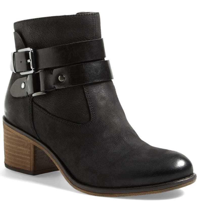 FRANCO SARTO 'Linden' Leather Bootie, Main, color, 001