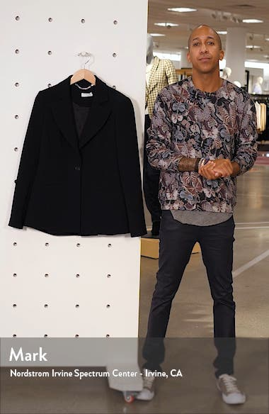 Acacia One Button Jacket, sales video thumbnail