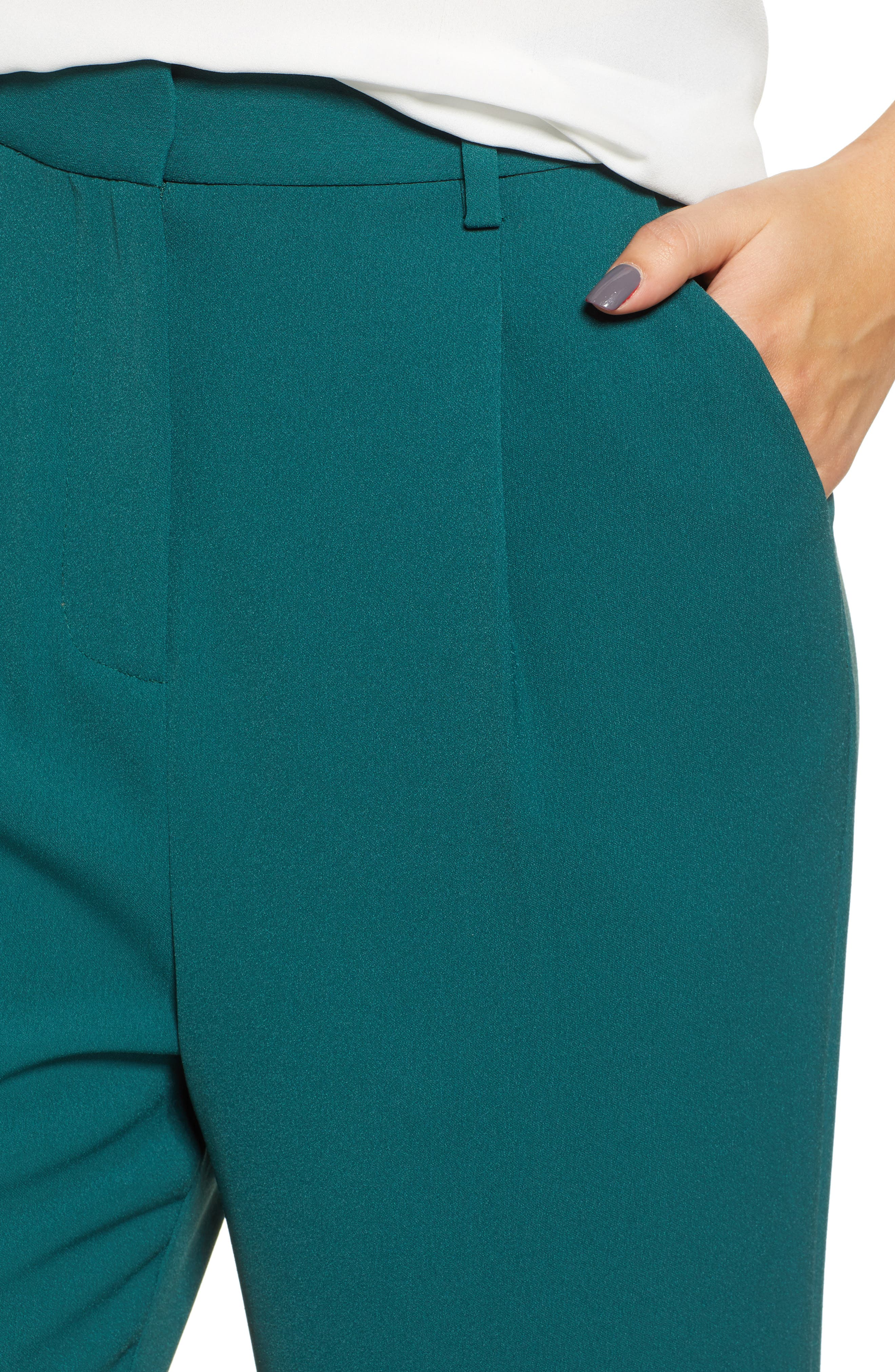 ,                             High Waist Flare Pants,                             Alternate thumbnail 27, color,                             301