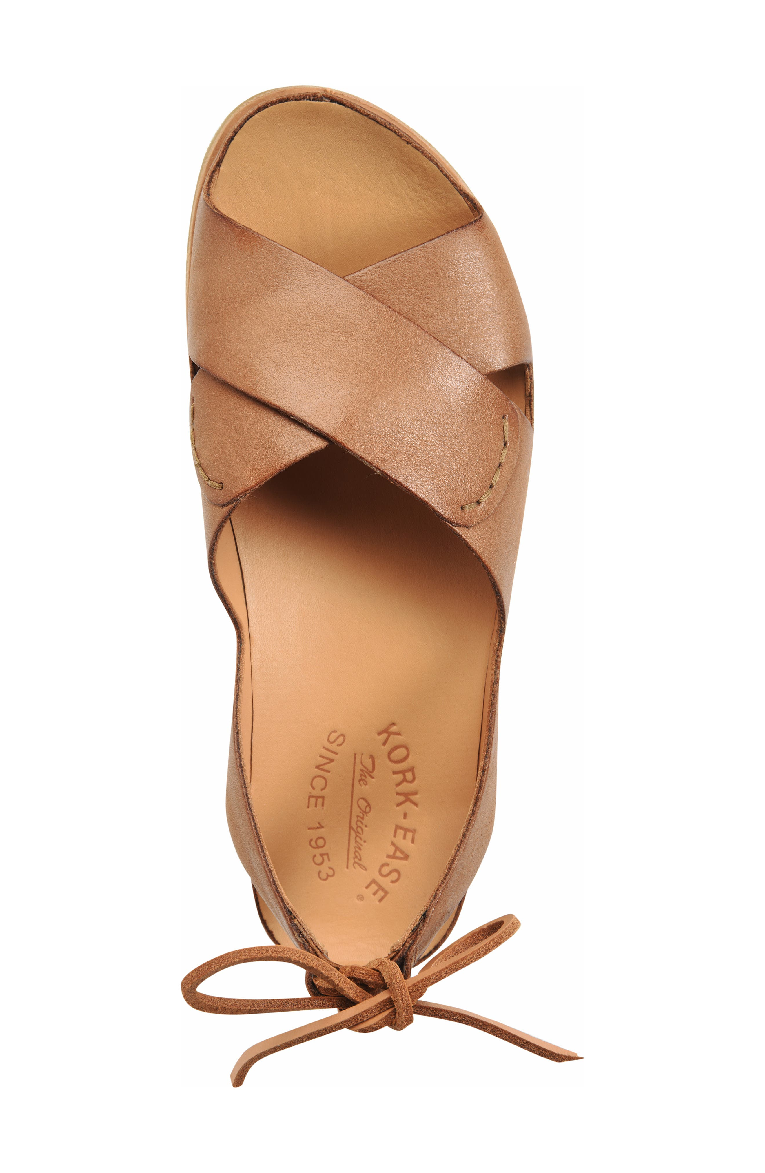 ,                             Aaron Sandal,                             Alternate thumbnail 5, color,                             BROWN LEATHER