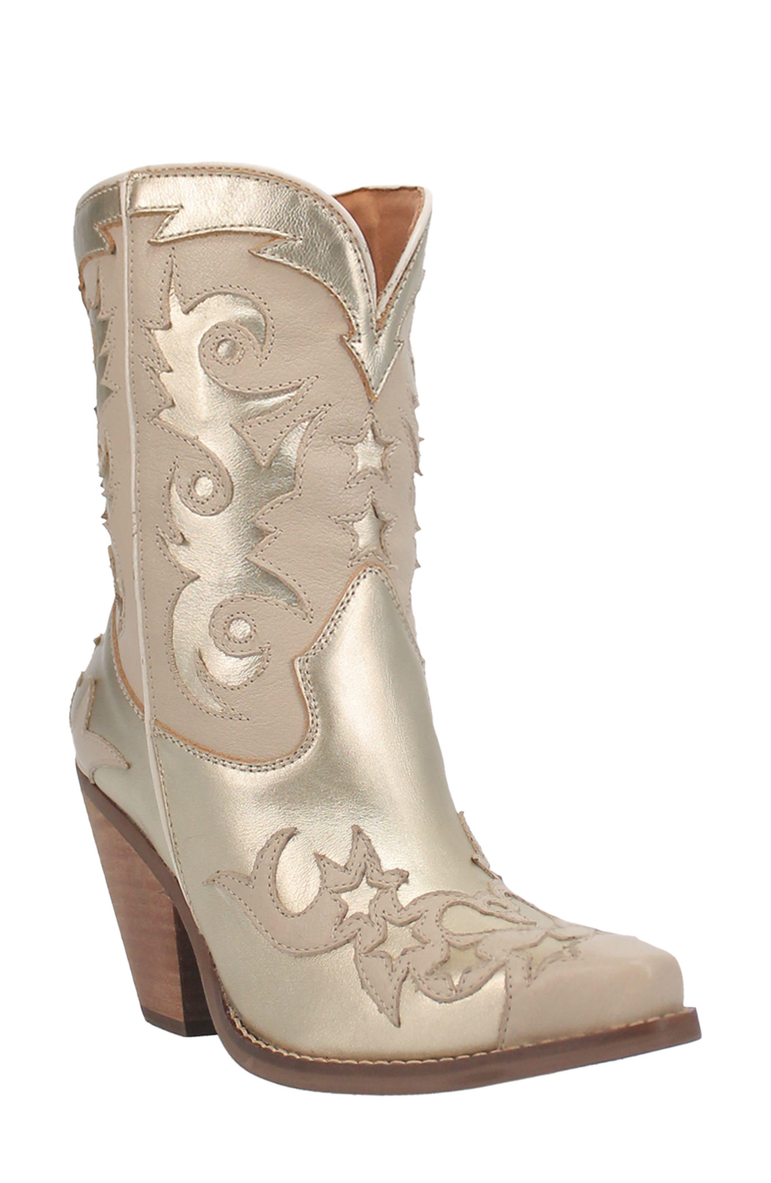 Applique Western Boot