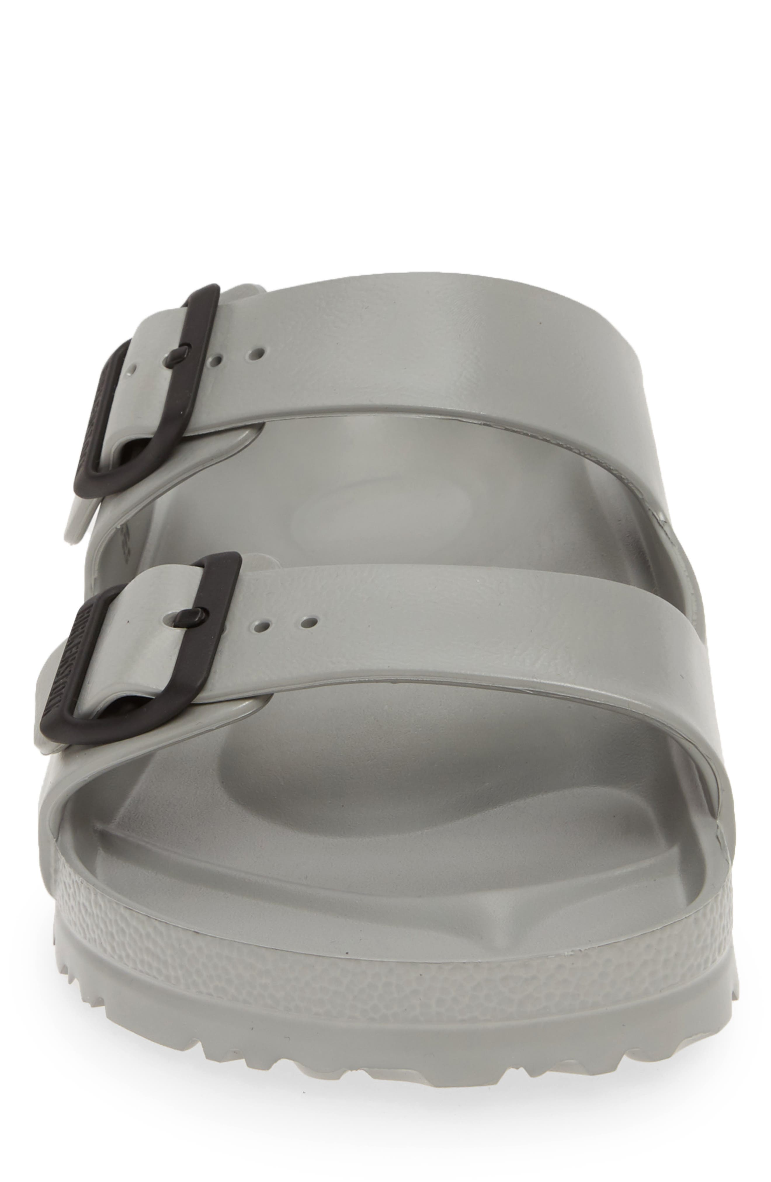 ,                             Essentials Arizona EVA Waterproof Slide Sandal,                             Alternate thumbnail 4, color,                             SEAL GRAY