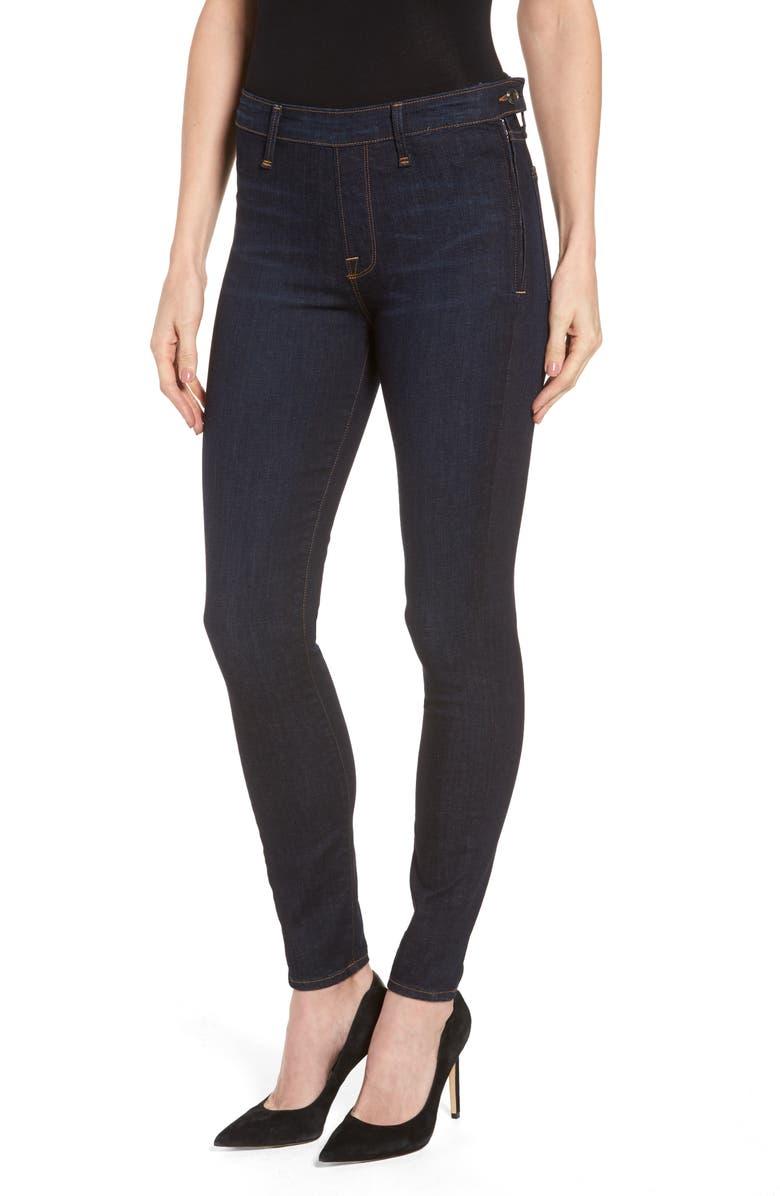 1a784f238 Good American High Waist Side Zip Skinny Jeans (Blue 051) (Regular ...