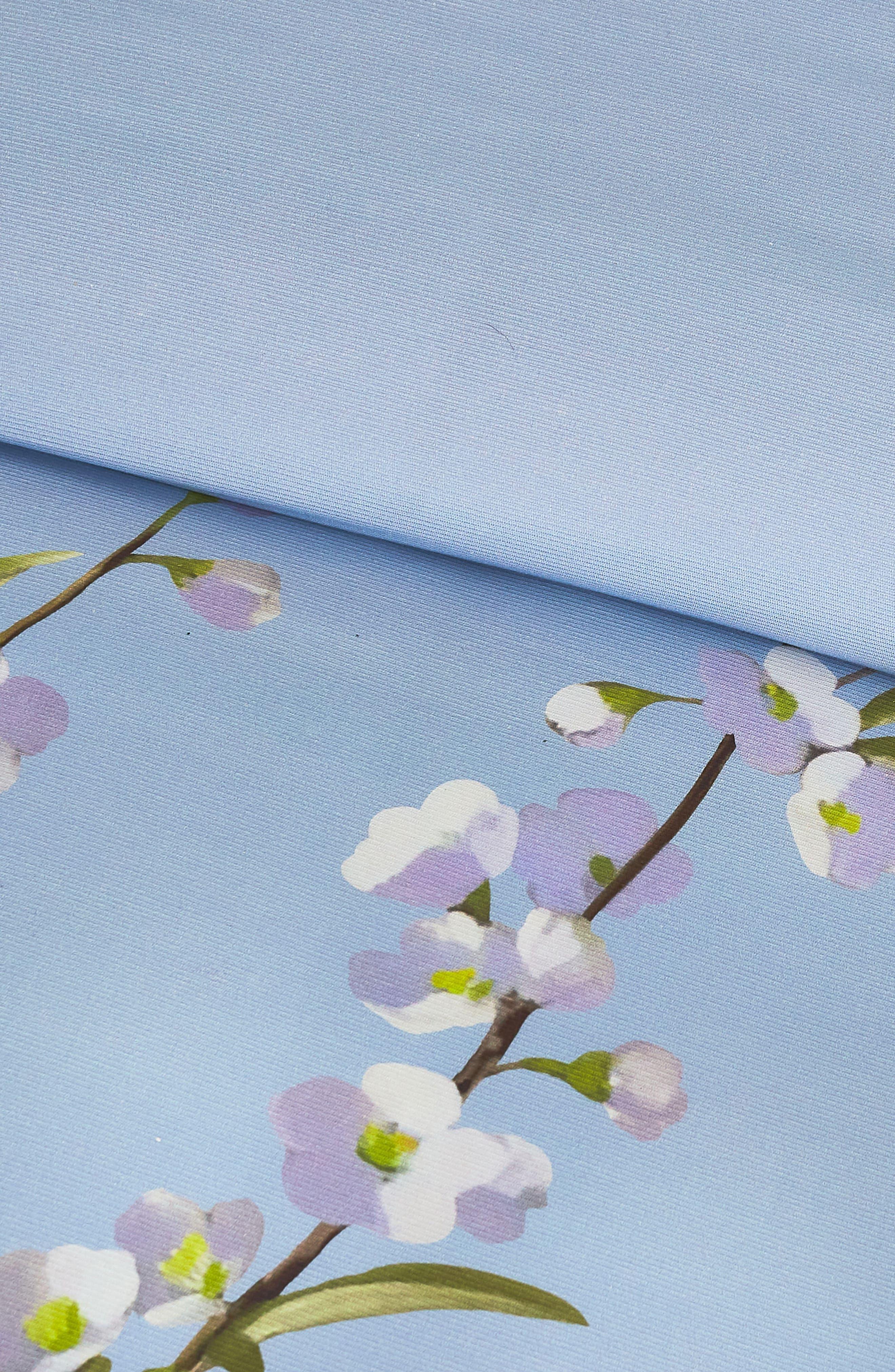 ,                             Graceful Comforter & Sham Set,                             Alternate thumbnail 2, color,                             BLUE