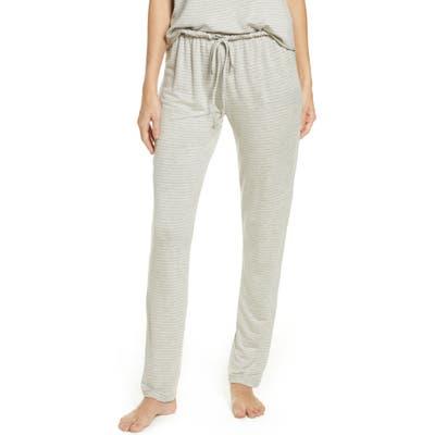Eberjey Sadie Stripes Pajama Pants, Grey