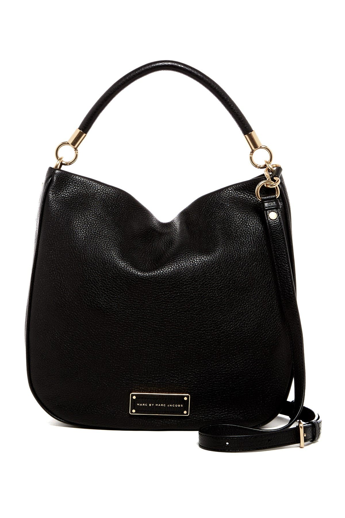 Image of Marc by Marc Jacobs Take Your Marc Leather Satchel