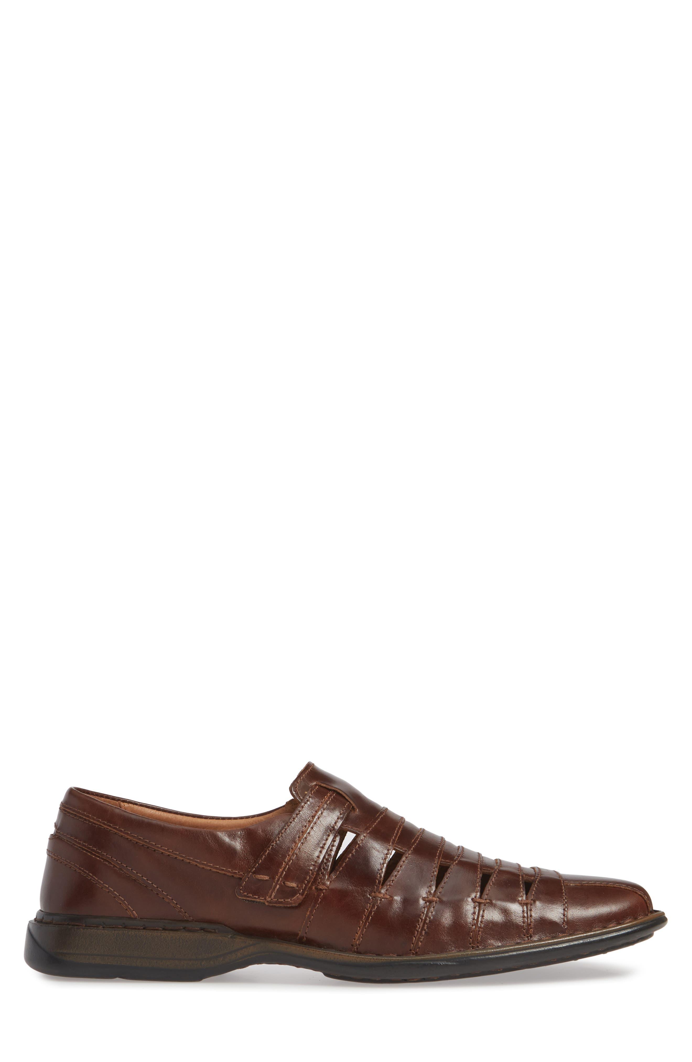 ,                             'Steven' Sandal,                             Alternate thumbnail 4, color,                             ROMA MARONE