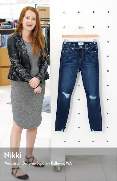 Verdugo Rock Slide Hem Ripped & Distressed Ankle Skinny Jeans, sales video thumbnail