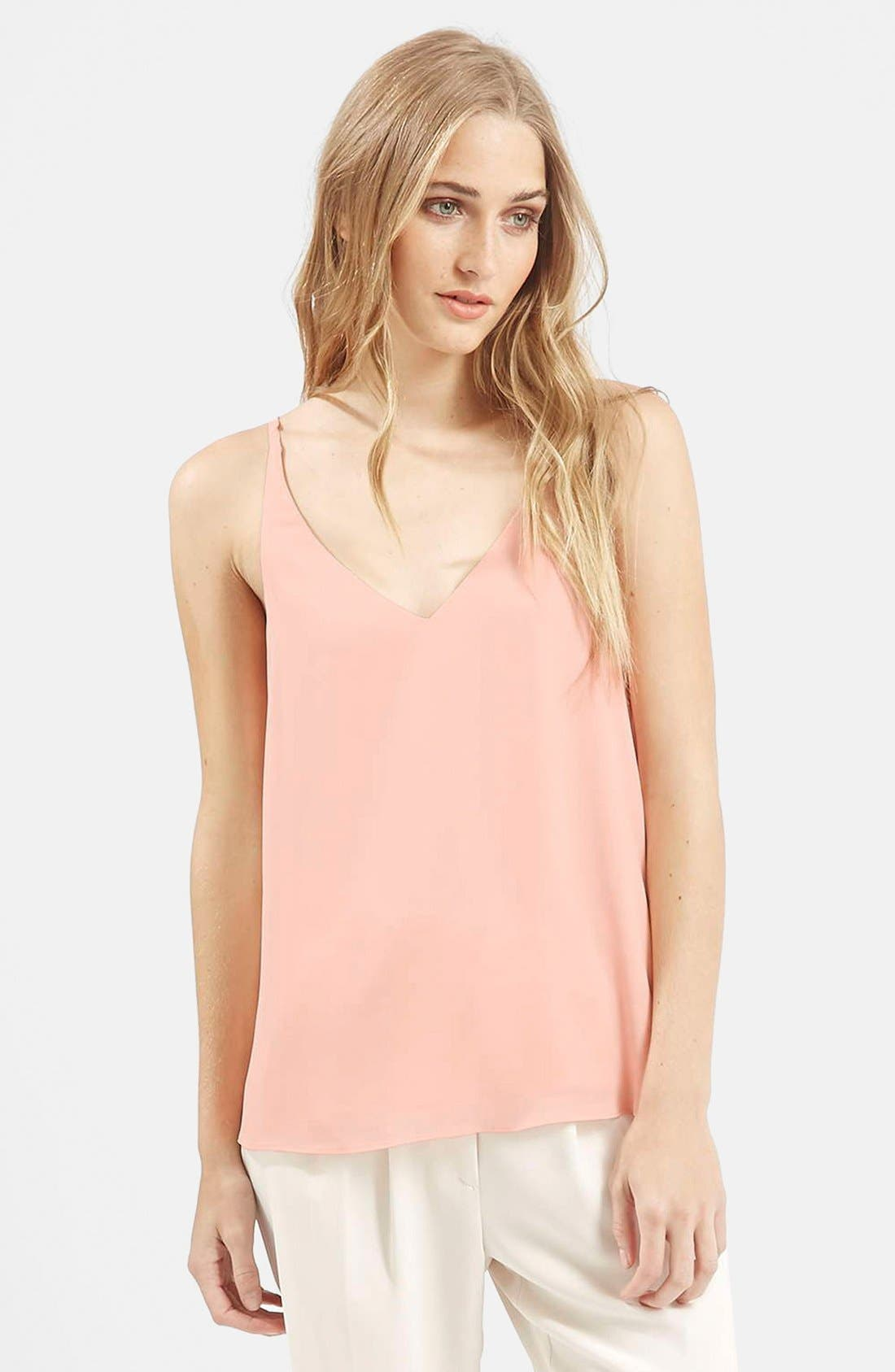 ,                             Strappy V-Neck Camisole,                             Main thumbnail 11, color,                             250