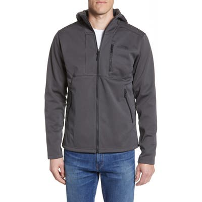 The North Face Apex Risor Water Repellent Hooded Jacket, Grey