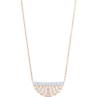 Sethi Couture Fringe Diamond Pendant Necklace