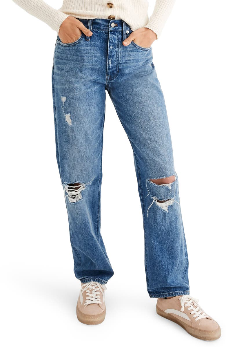 MADEWELL The Dad Jeans, Main, color, 400