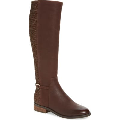 Cole Haan Isabell Stretch Back Riding Boot, Brown