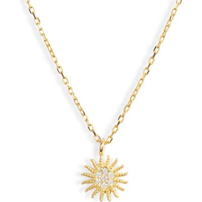 Karen London Starburst Pendant Necklace