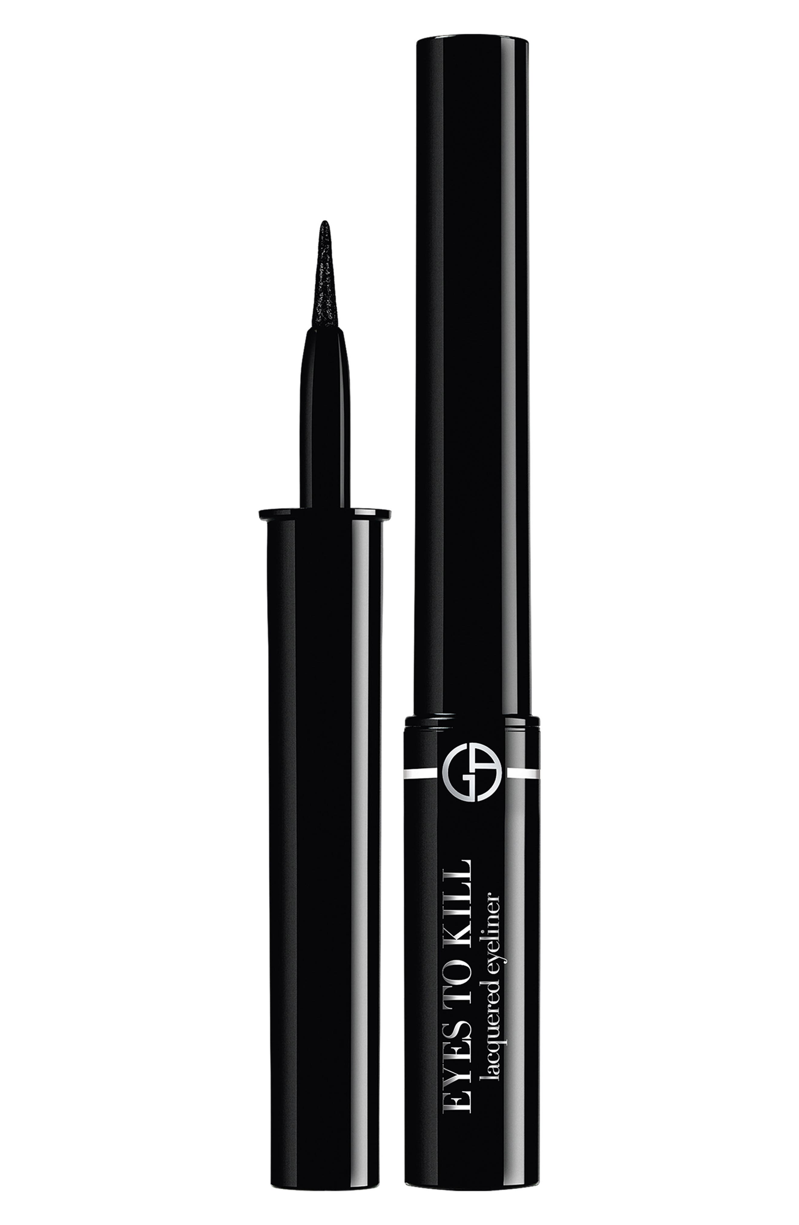 Eyes to Kill Lacquered Liquid Eyeliner, Main, color, ULTRA-BLACK