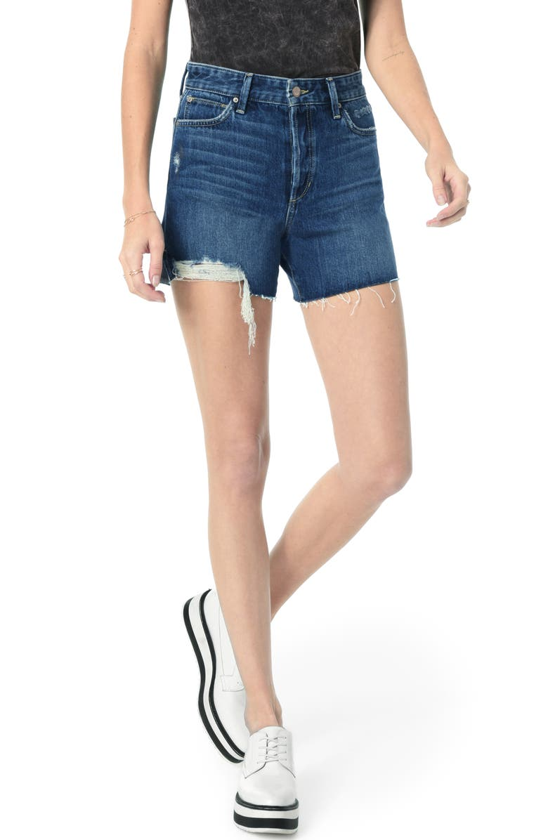 JOE'S Smith High Waist Cutoff Shorts, Main, color, MARTINA